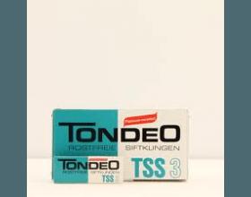 Tondeo TSS3 mesjes 10 stuks