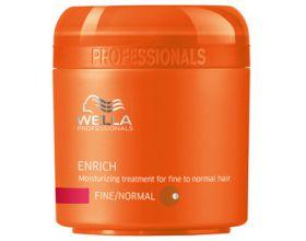 Wella Enrich Masker fijn / normaal haar 150 ml