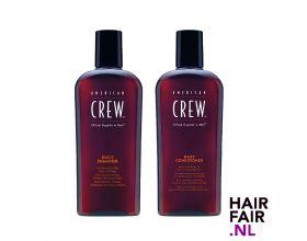 American Crew Daily Shampoo 1000ml & Daily Conditioner 1000ml