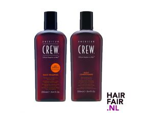 American Crew Daily Shampoo 250ml & Daily Conditioner 250ml