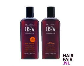 American Crew Daily Shampoo 250ml & Daily Conditioner 250ml