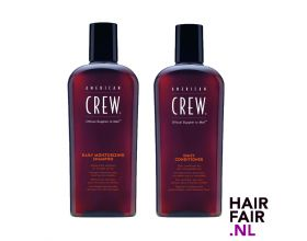 American Crew Daily Moisturizing Shampoo 1000ml & Daily Conditioner 1000ml