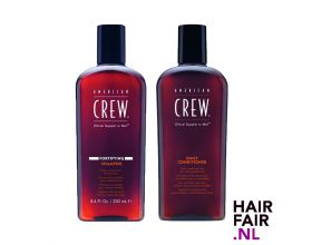 American Crew Fortifying Shampoo 250ml & Daily Conditioner 250ml