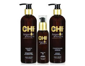 CHI Argan Moisture Revival Kit