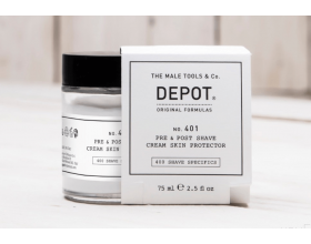 Depot 401 Pre & Post Shave Cream Skin Protector 75ml