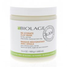 Matrix Biolage R.A.W. Rehydrate Clay Mask Masker Droog Haar 400ml