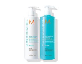 Moroccanoil Moisture Repair Duo 500 ml met gratis 25 ml treatment