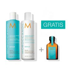 Moroccanoil Moisture Repair Duo 250 ml met gratis 25 ml treatment