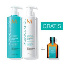 Moroccanoil Smoothing Duo 500ml met gratis 25 ml treatment
